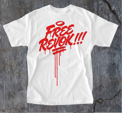 """Free Revok"" Fundraiser Tshirts Available Now"