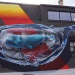 Never Crew unveils a new piece in Rochester, USA