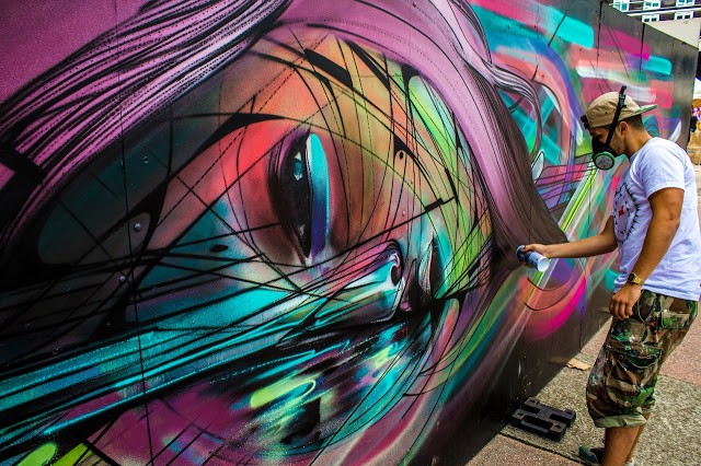 Hopare New Street Art In Cergy, France