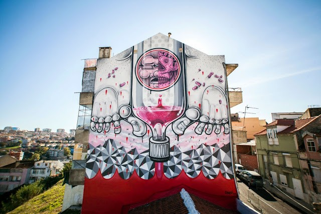 How Nosm New Mural For Underdogs - Lisbon, Portugal (Part II)