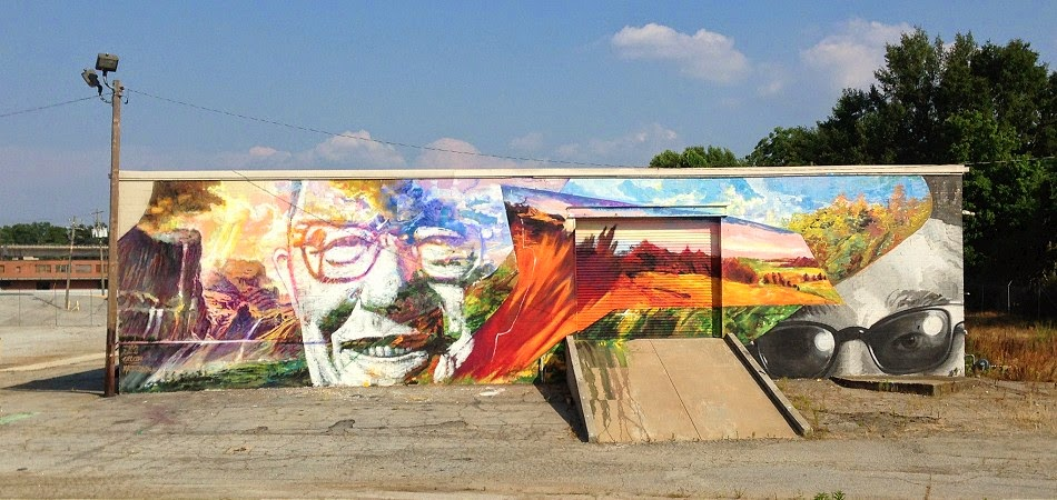 Gaia x Nanook x Ozmo x Matt Cogdil New Mural – Atlanta, USA