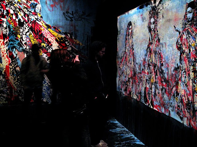 """HUSH """"New Works by HUSH"""" San Francisco Solo Show Coverage"""
