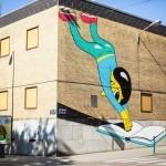 Huskmitnavn New Street Pieces – Charleroi, Belgium