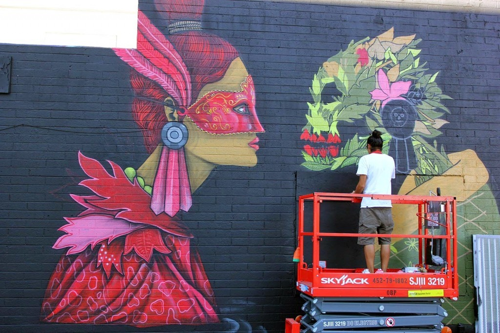 Work in progress by Saner for JustKids and Life Is Beautiful Festival in Las Vegas
