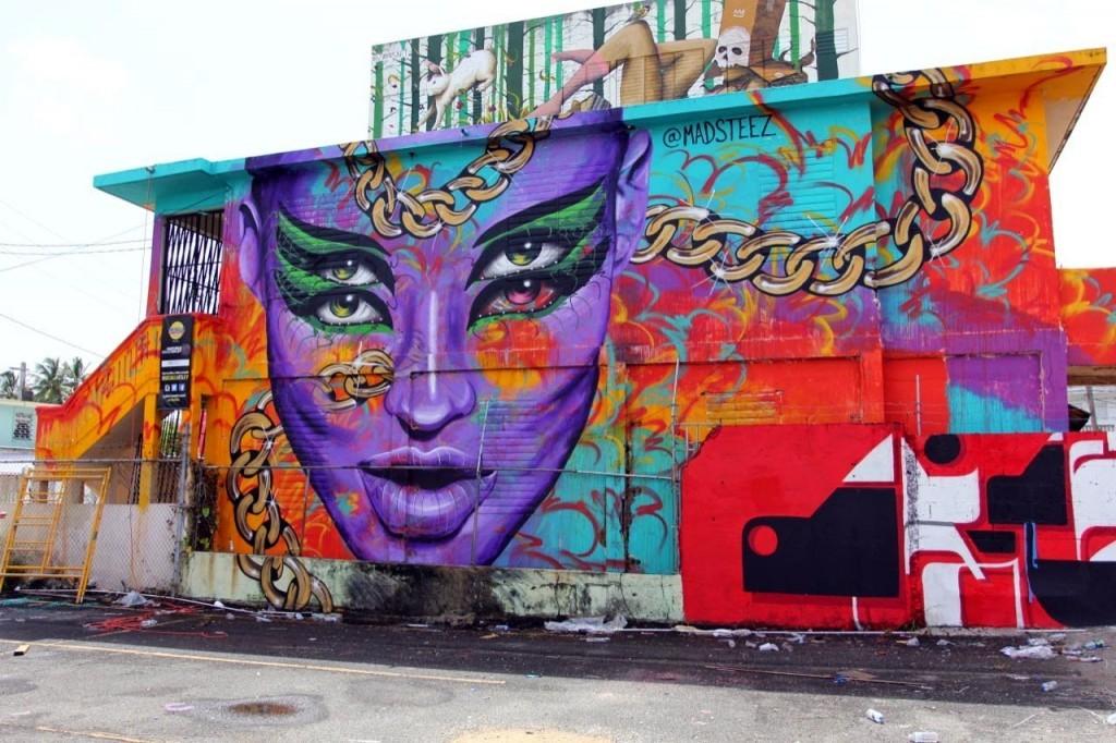 Madsteez New Mural For Santurce Es Ley 5 – San Juan, Puerto Rico