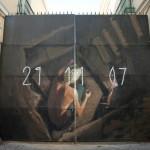 "Axel Void ""21.11.07"" New Mural – Sevilla, Spain"