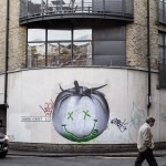 Ludo brings a series of new pieces to the streets of London, UK