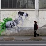 "Ludo ""Invert"" New Street Piece – Paris, France"