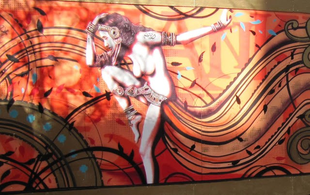 Fin DAC x Inkie New Mural In London
