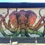 "Alexis Diaz unveils a brand new ""Octophant"" in Wynwood, Miami"
