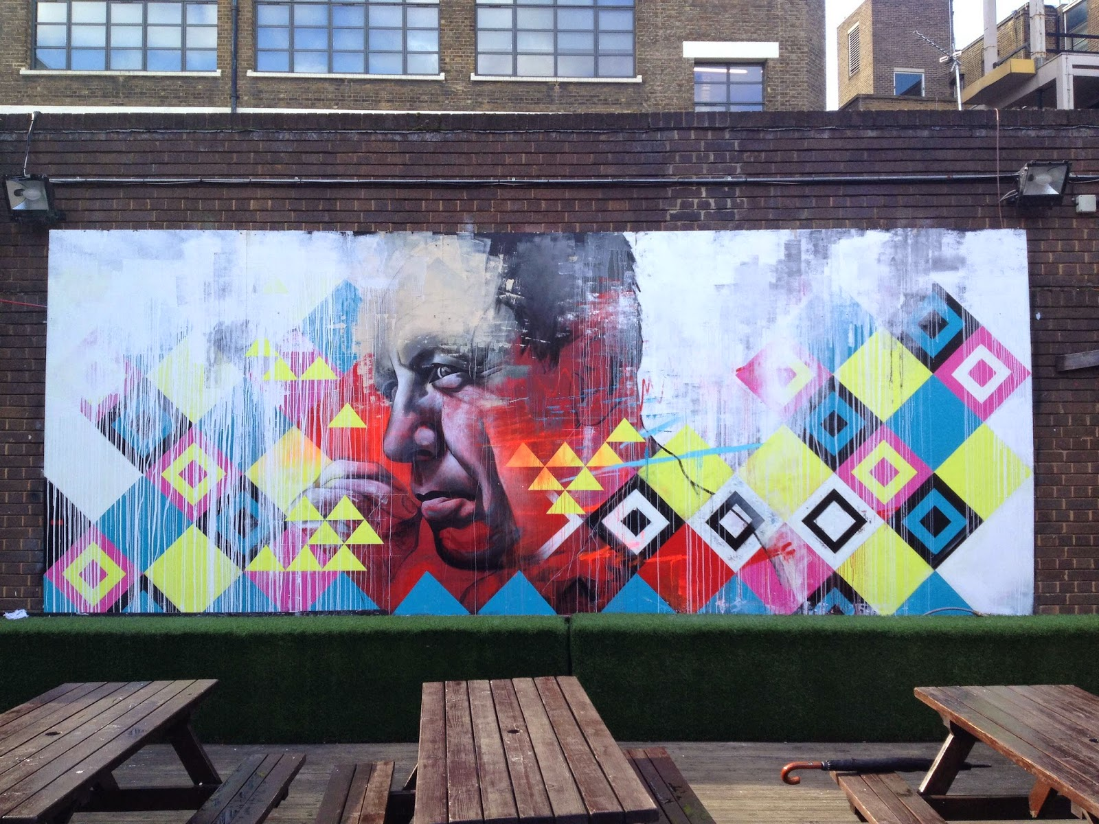 Ben Slow and Carl Cashman collaborate on a new piece in East London, UK