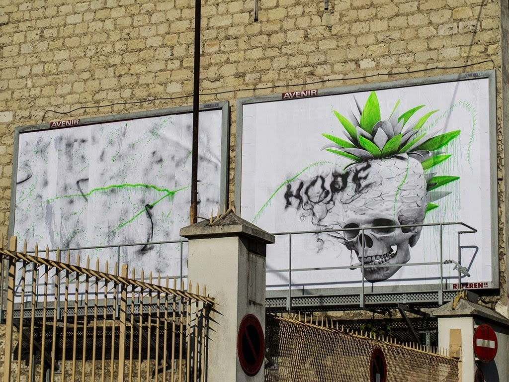 """Auto Portrait"", a new piece by Ludo in Paris, France"