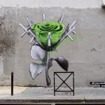 "Ludo ""Love And Riot"" New Pieces – Paris, France"