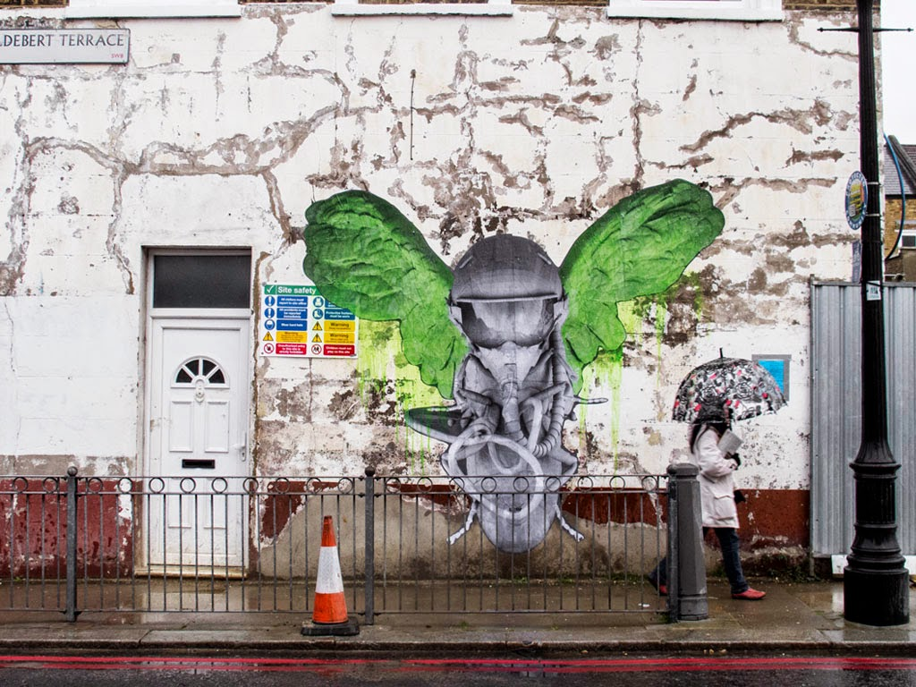 Ludo brings new pieces to the streets of London, UK (Part III)