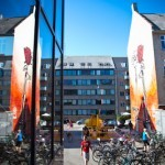 "Shepard Fairey ""M16 Vs AK47"" New Mural In Copenhagen, Denmark"