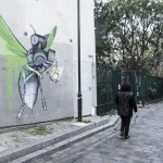 Ludo unveils a series of pieces on the streets of Paris