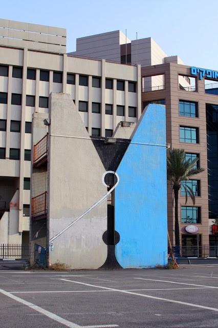 "Dede ""Clothespin"" New Street Piece – Tel Aviv, Israel"