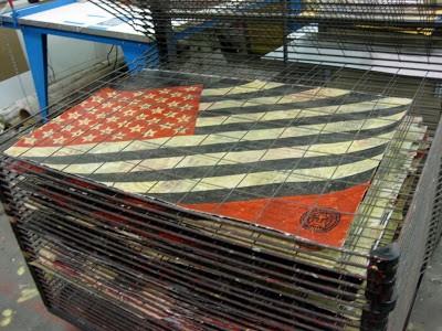Shepard Fairey 'Flag' New HPM