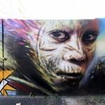 "Dale Grimshaw ""Kapow"" New Mural – London, UK"