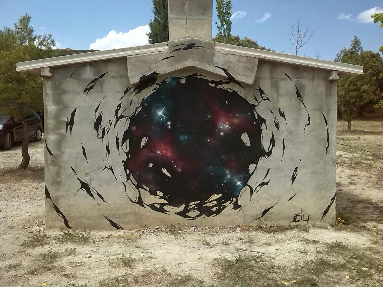 Deih New Mural - Valencia, Spain