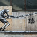 Phlegm and David De La Mano create a new collaboration in Cardiff, Wales