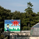 Invader unveils a large new invasion in Ravenna, Italy
