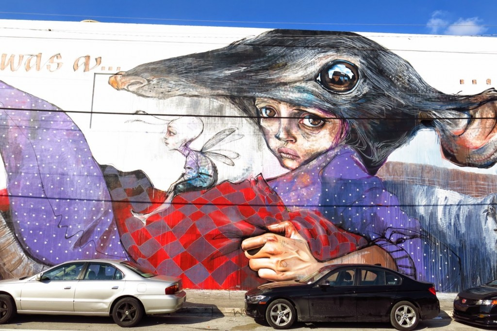 Art Basel '14: Herakut paints a massive mural in Wynwood, Miami