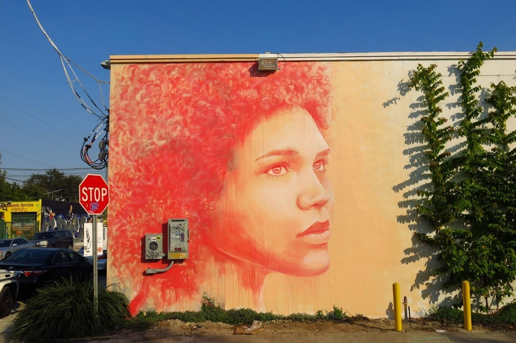 Art Basel '14: RONE paints a beautiful portrait in Wynwood, Miami