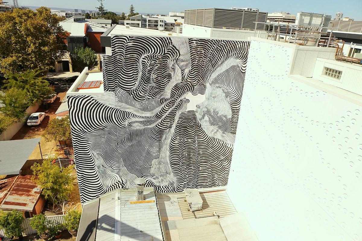 2501 New Mural For Public Festival - Perth, Australia (Part II)