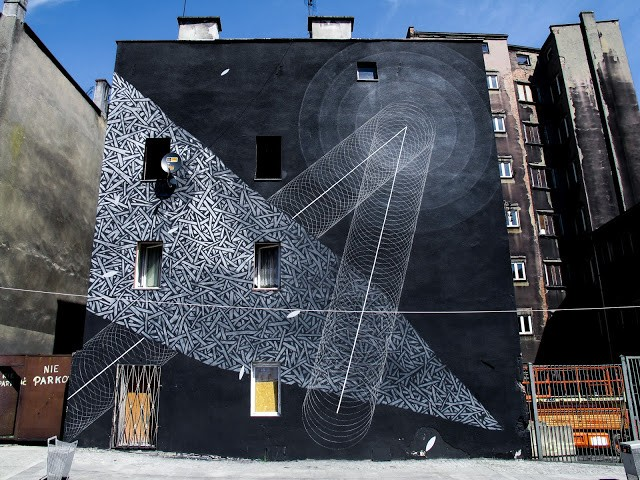 Tellas x Moneyless New Mural In Katowice