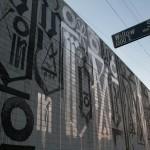 RETNA New Mural In Progress, Los Angeles