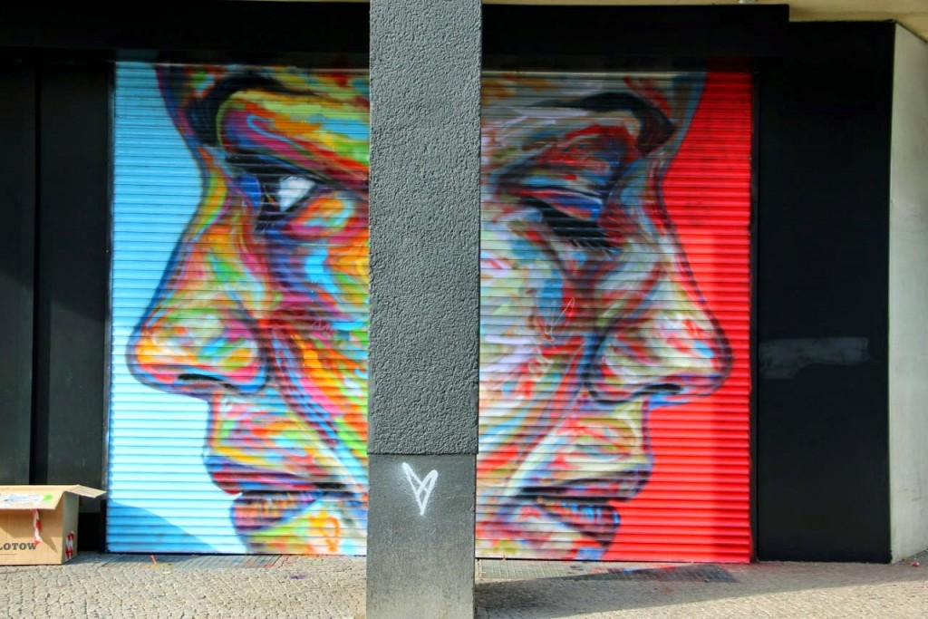 David Walker New Mural For Urban Nation – Berlin, Germany