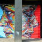 David Walker New Mural For Urban Nation – Berlin, Germany
