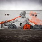 Cyrcle New Mural For POW! WOW! 2014 – Honolulu, Hawaii