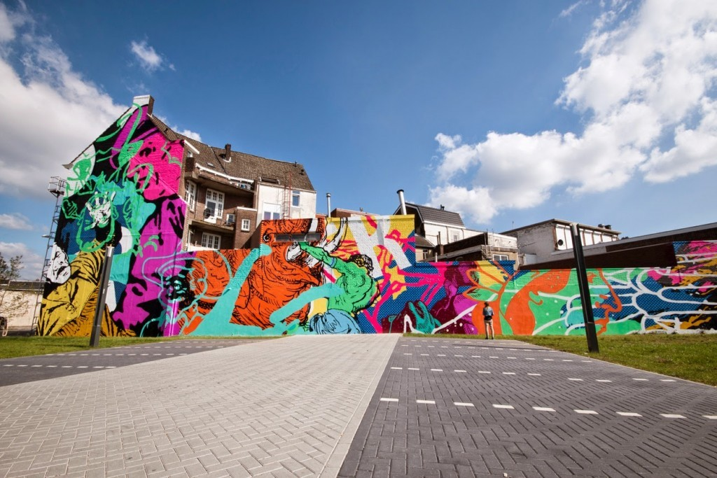"Cyrcle ""Struggle"" In Heerlen, Netherlands"