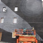Tellas x Moneyless New Mural In Progress, Katowice Poland