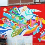 Mural '15: Work In Progress by Bicicleta Sem Freio in Montreal, Canada