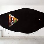 """Basik """"Reverse Balaclava"""" New Indoor Mural – Rimini, Italy"""