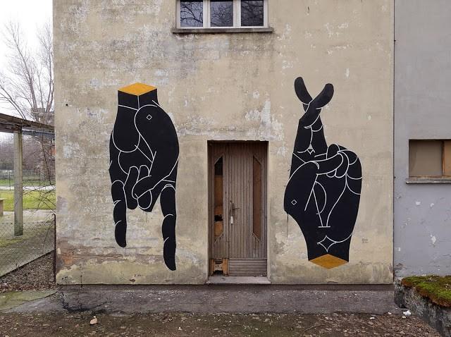 Basik New Hands Mural – Rimini, Italy
