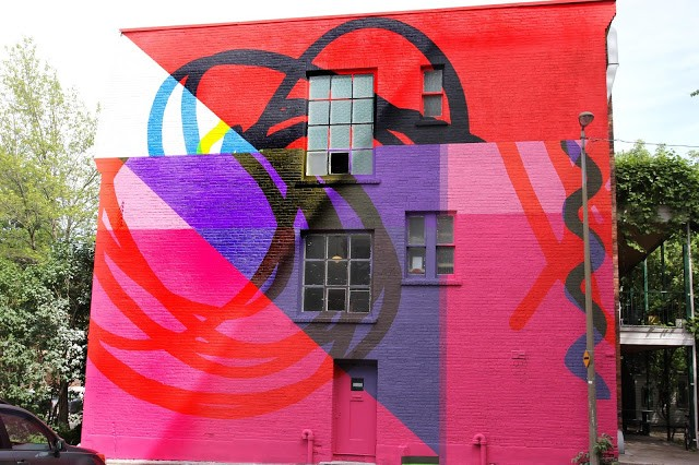 Mural '15: Elian unveils a new piece on the streets of Montreal, Canada