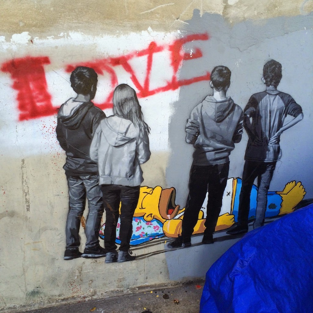 Pow! Wow! '15: Ernest Zacharevic newest interventions in Honolulu, Hawaii