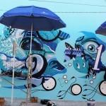 SeaWalls '15: Work In Progress by Tristan Eaton & The London Police in Cozumel, Mexico