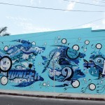 SeaWalls '15: Tristan Eaton and The London Police collaborate on a mural in Cozumel, Mexico