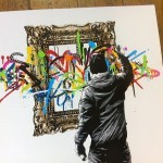 "Martin Whatson ""Framed"" Limited Edition Screen Print"