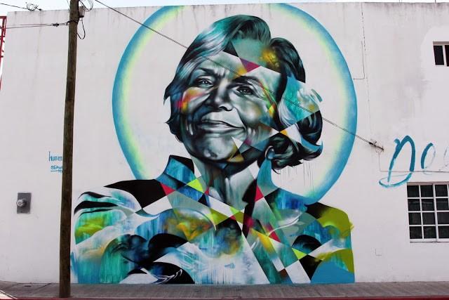 SeaWalls '15: Hueman unveils her new mural in Cozumel, Mexico