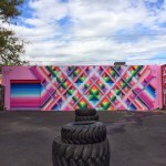 Maya Hayuk New Mural For Art Basel '13 – Wynwood Walls, Miami