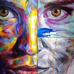 "Coverage: David Walker's London Solo Show ""A Blank Canvas is a White Flag"""