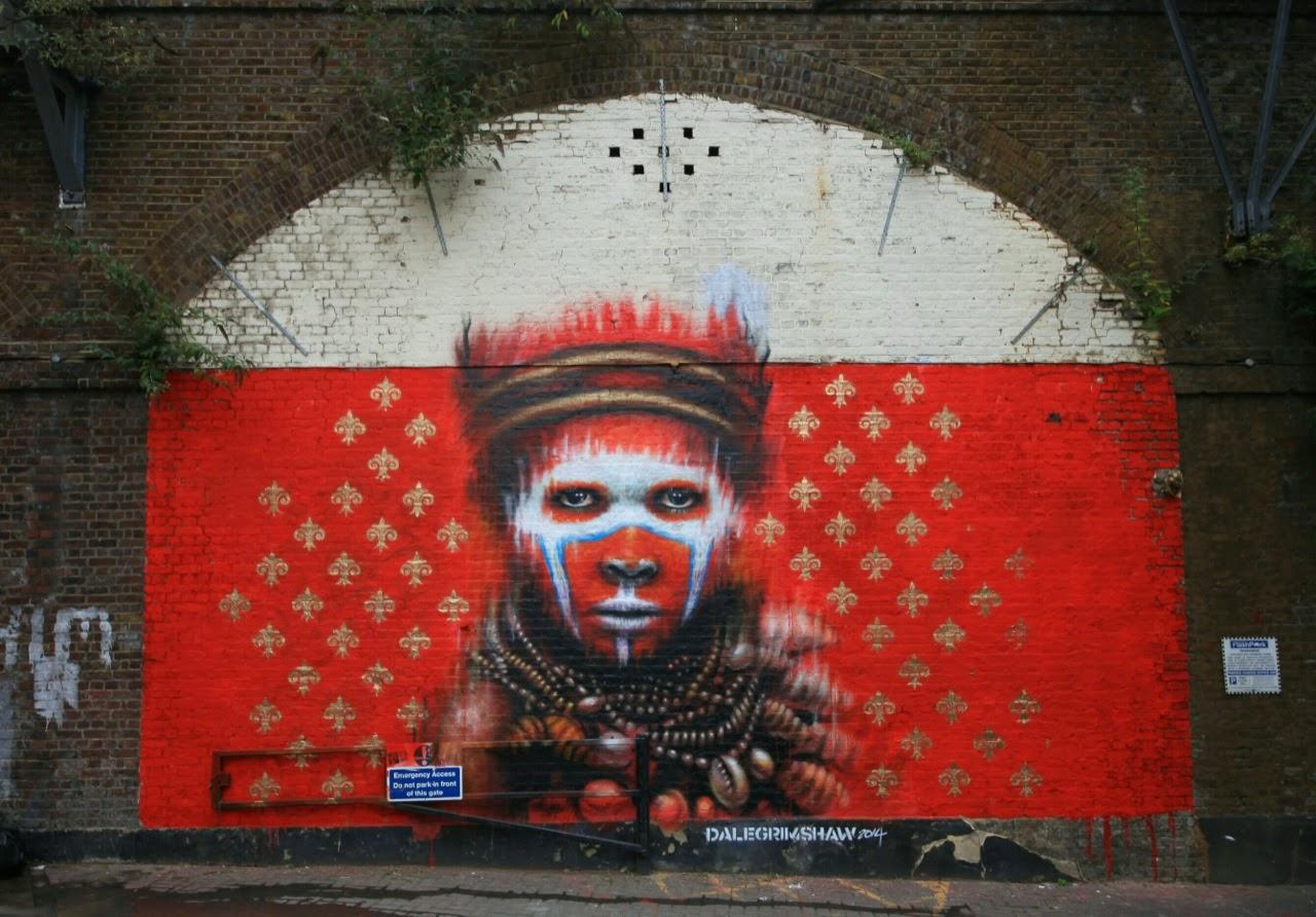 Dale Grimshaw New Mural - Camden, London