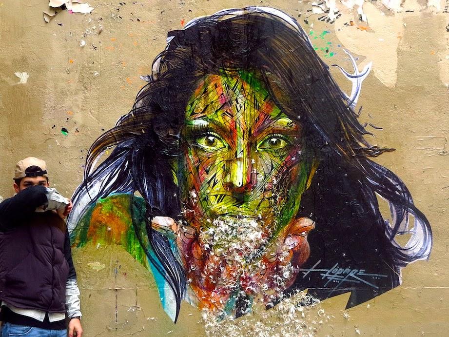 Hopare New Street Piece – Paris, France