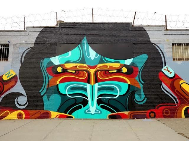 REKA New Street Art - Bushwick, New York City